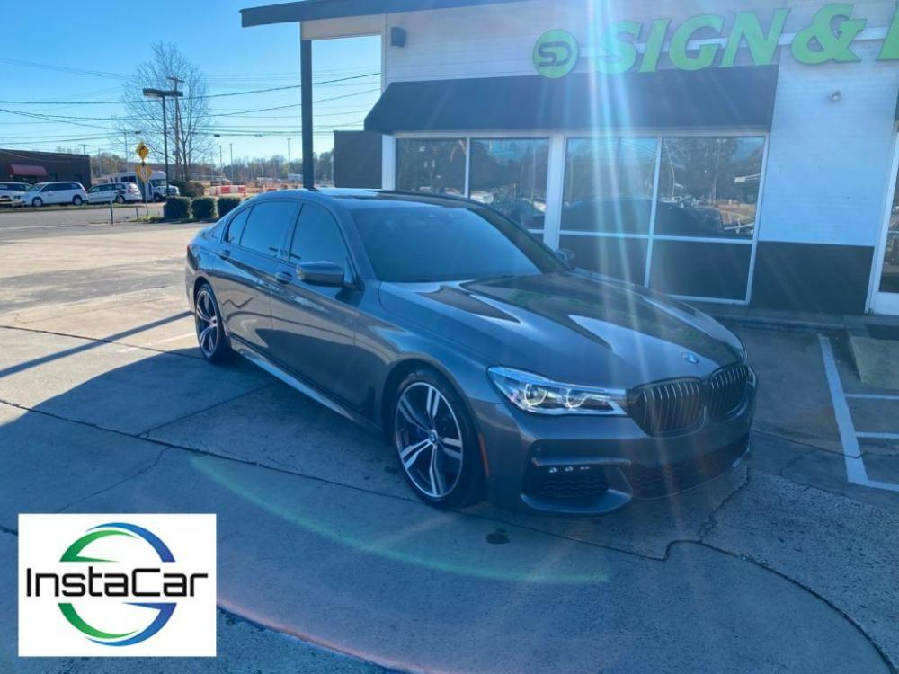 2018 Gray BMW 7 series 750i (WBA7F0C59JG) with an 4.4 liter 8 Cylinder Engine engine, Automatic transmission, located at 3147 E Independence Blvd, Charlotte, NC, 28205, 35.200268, -80.773651 - Photo #0
